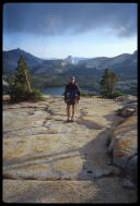 David Benson in Tuolumne, Yosemite