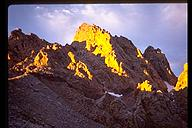 Alpenglow on the Exum Ridge, Grand Teton, Wyoming