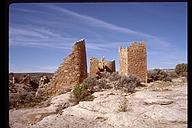 Hovenweep castle ruins. Hovenweep National Monument, Utah
