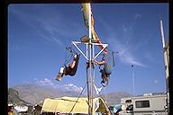 Burning Man 1998 - A swing with a view